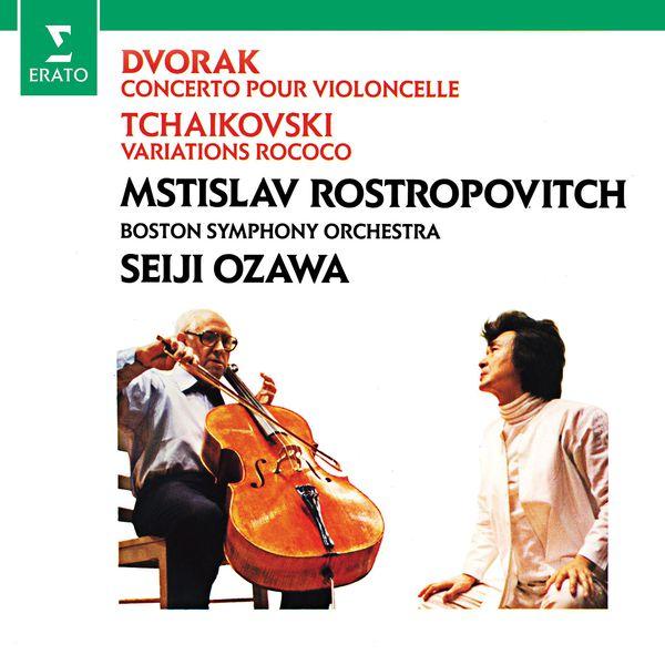 Mstislav Rostropovich - Dvorák: Cello Concerto - Tchaikovsky: Variations on a Rococo theme