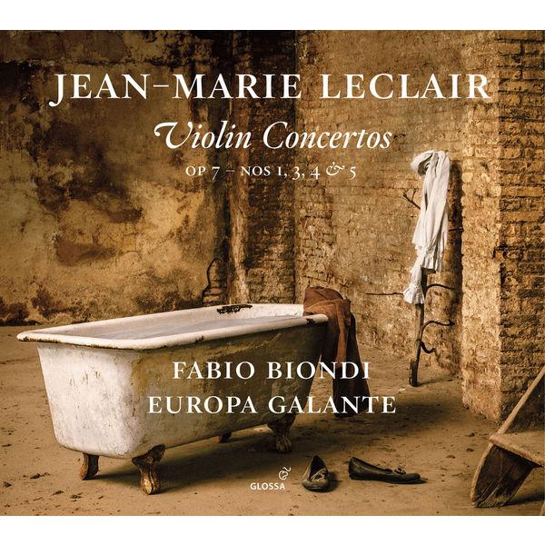 Fabio Biondi - Leclair: Violin Concertos, Op. 7 Nos. 1, 3, 4 & 5