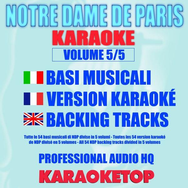 Karaoketop - Notre Dame de Paris, Vol. 5/5