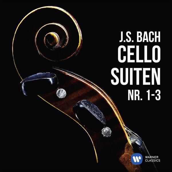 Heinrich Schiff - J.S. Bach: Cellosuiten Nr. 1-3
