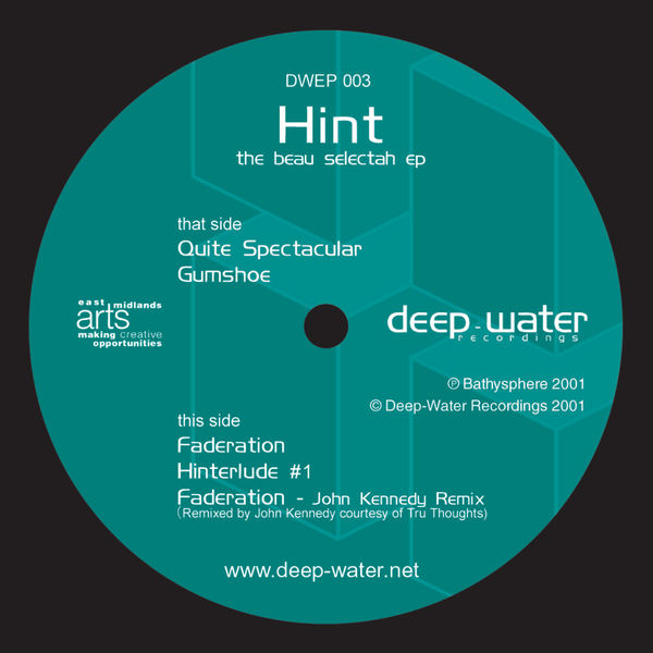 Hint - The Beau Selectah EP