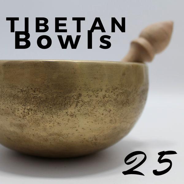 Tibetan Monks 25 Tibetan Bowls for Relaxation