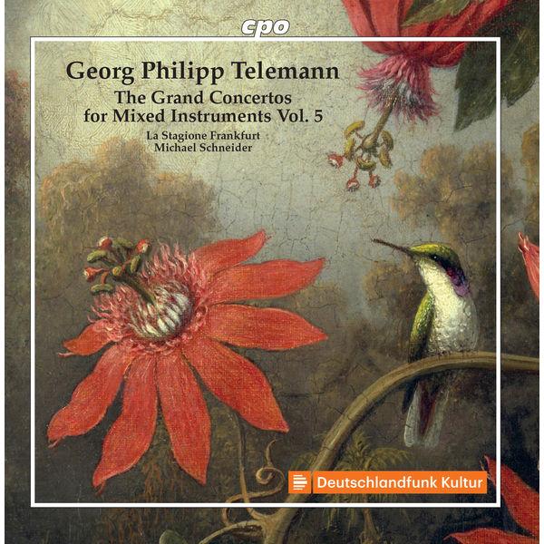 Stagione Frankfurt, La - Telemann: Grand Concertos, Vol. 5