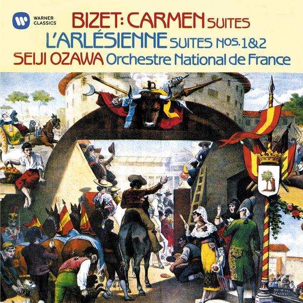 Seiji Ozawa - Bizet: Suites from Carmen & L'Arlésienne