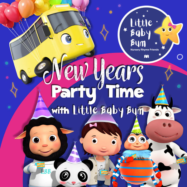 Little Baby Bum Nursery Rhyme Friends - New Year's Party Time with Little Baby Bum