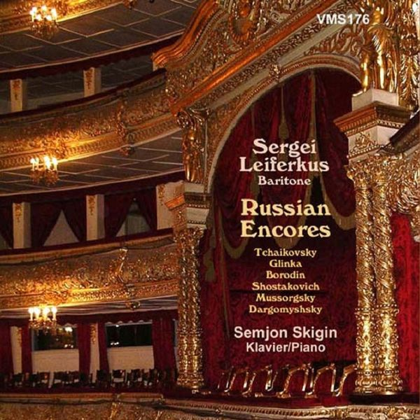 Sergei Leiferkus|Sergei Leiferkus Sings Russian Encores (Live)