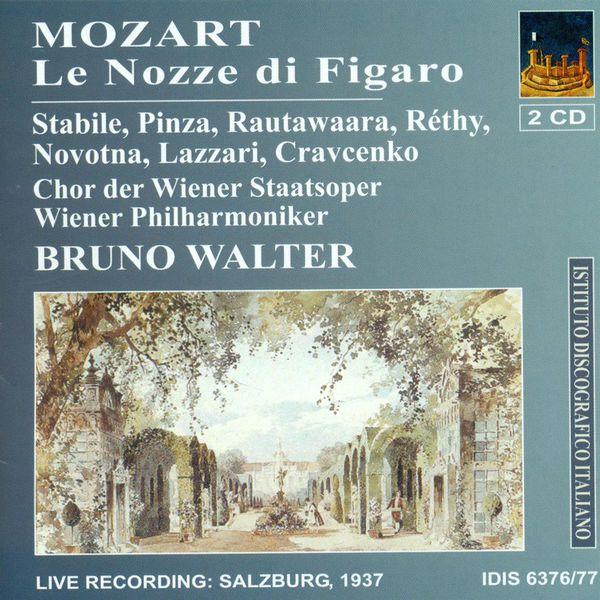Bruno Walter - Mozart, W.A.: The Marriage of Figaro [Opera] (1937)