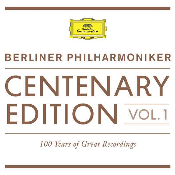 Berliner Philharmoniker - Berliner Philharmoniker Centenary Edition 1913-2013 (100 Years of Great Recordings), vol. 1