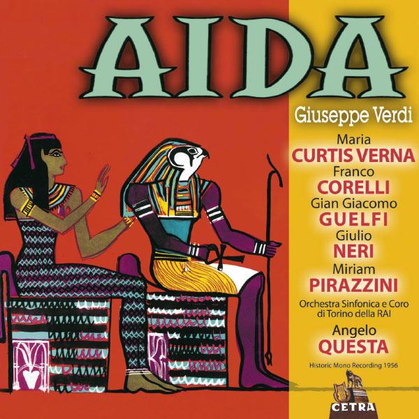 Angelo Questa - Cetra Verdi Collection: Aida