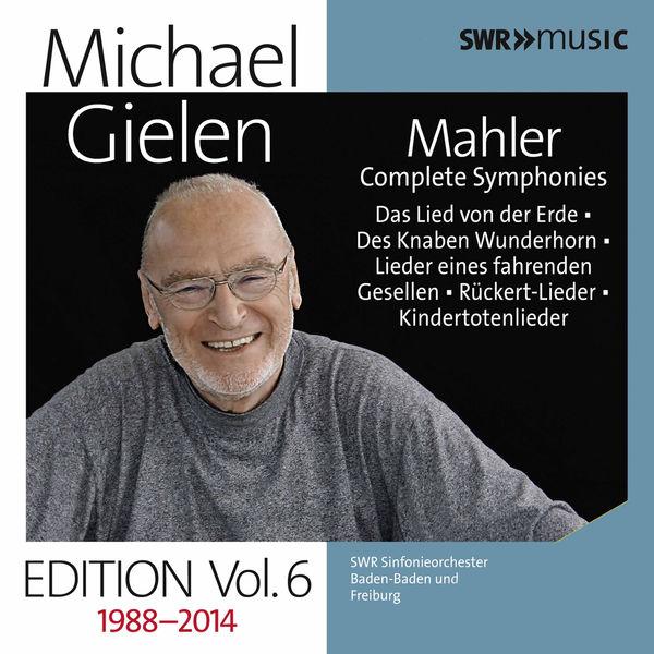 Michael Gielen - Michael Gielen, Vol. 6: Mahler Symphonies, Orchestral Songs