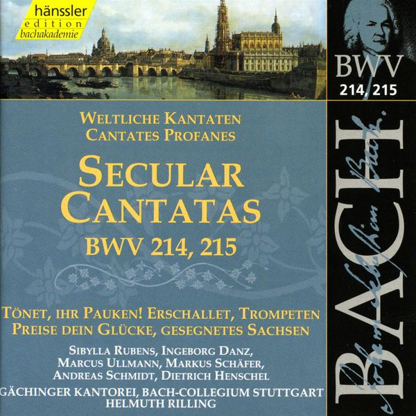 Helmuth Rilling - J.S. Bach : Secular Cantatas, BWV 214-215