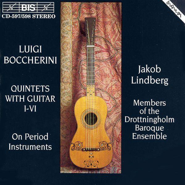 Jakob Lindberg|BOCCHERINI: Guitar Quintets