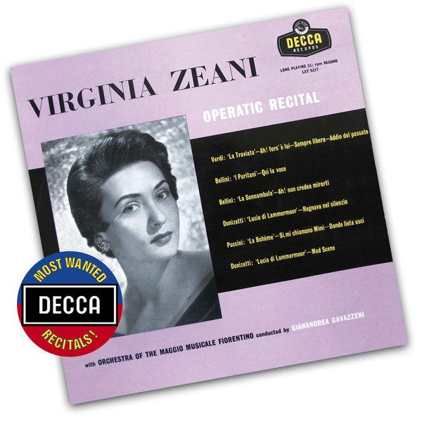 Virginia Zeani - Virginia Zeani - Operatic Recital