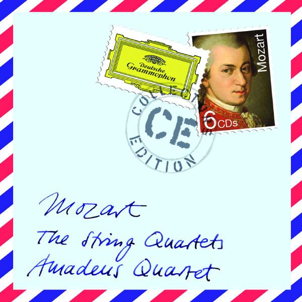 Amadeus Quartet - W.A. Mozart : The String Quartets / Quatuors à cordes (Intégrale)