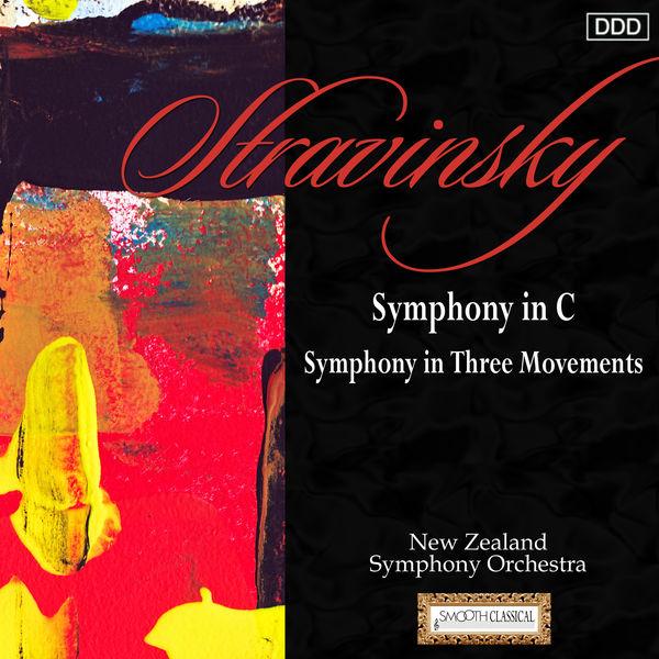 New Zealand Symphony Orchestra - Stravinsky: Symphony in C - Symphony in Three Movements