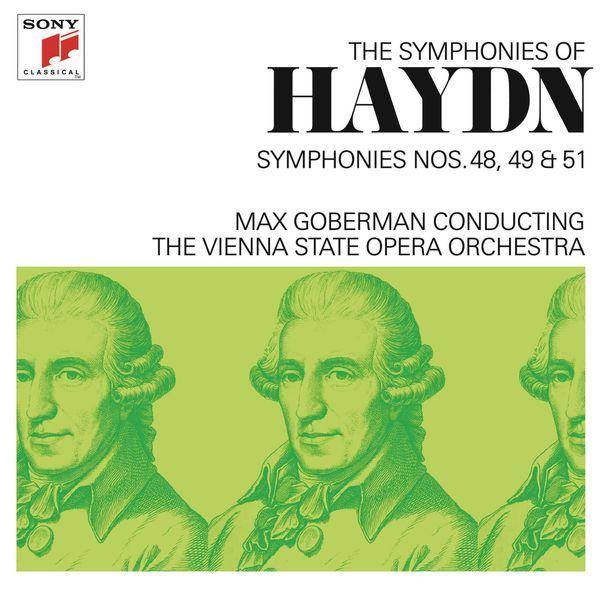 Max Goberman - Haydn: Symphonies Nos. 48, 49 & 51