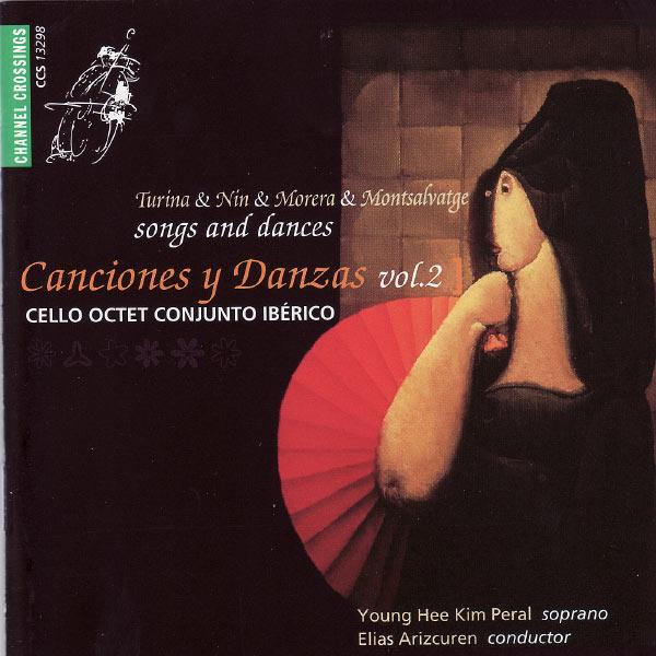 Cello Octet Conjunto Iberico Canciones y Danzas, Vol. 2 (Cello Octet Conjunto Ibérico)