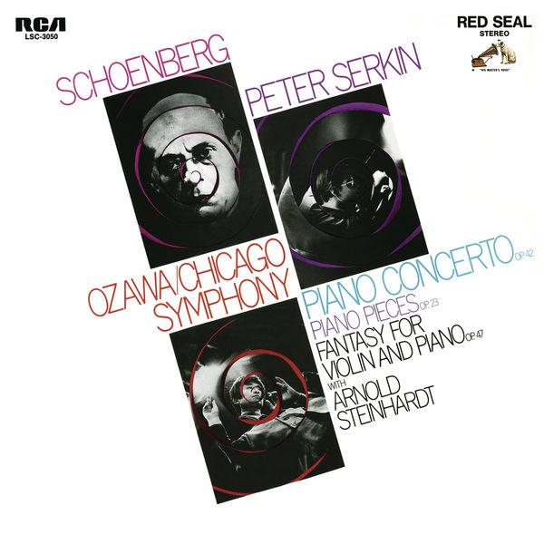 Seiji Ozawa - Schoenberg: Piano Concerto, Op. 42, 5 Piano Pieces, Op. 23 & Phantasy, Op. 47