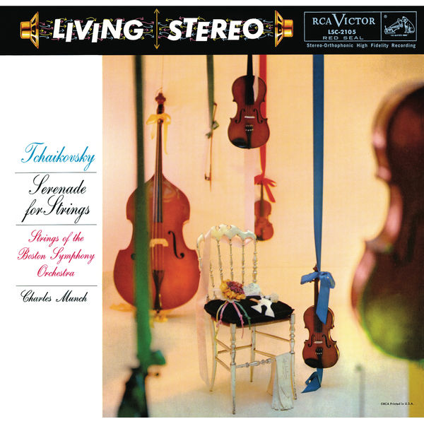 Charles Munch - Tchaikovsky: Serenade for String Orchestra, Op. 48, TH 48 - Barber: Adagio for Strings, Op. 11 - Elgar: Introduction and Allegro, Op. 47