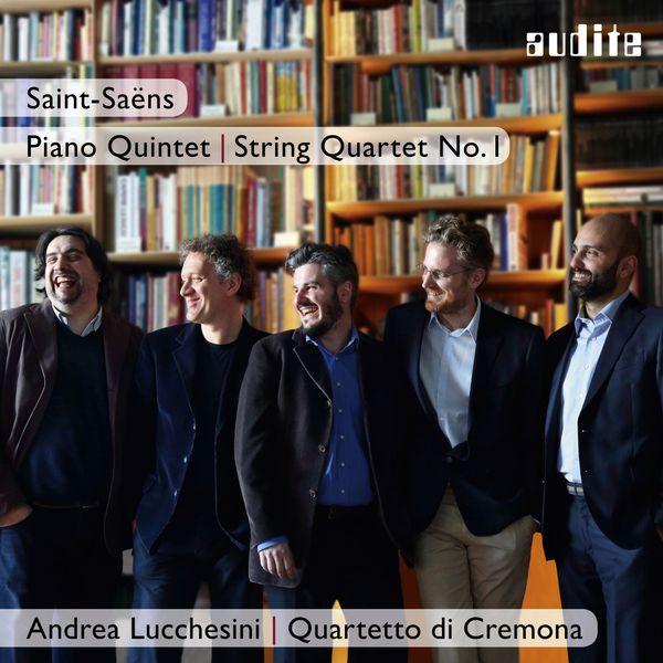 Andrea Lucchesini - Saint-Saëns: Piano Quintet & String Quartet No. 1