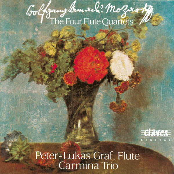 Peter-Lukas Graf - W. A. Mozart : The Four Flute Quartets