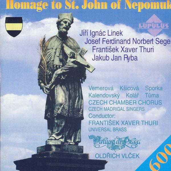 Virtuosi Di Praga - Homage to St. John of Nepomuk