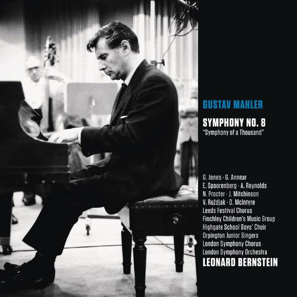 """Leonard Bernstein - Mahler : Symphonie No.8 """"Symphonie des mille"""" (Bernstein Symphony Edition Vol.35)"""
