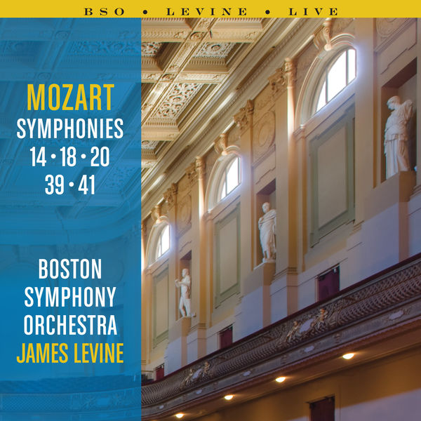 Boston Symphony Orchestra - Mozart Symphonies: 14, 18, 20, 39 and 41