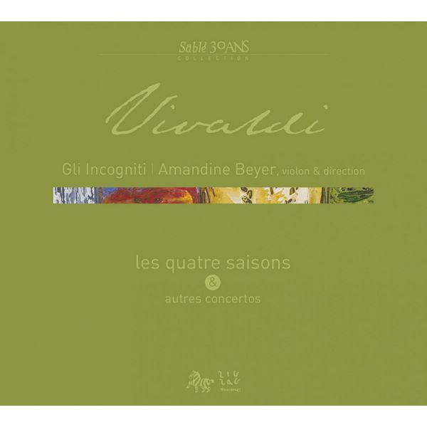 Amandine Beyer - Vivaldi - Les Quatre saisons et autres concertos