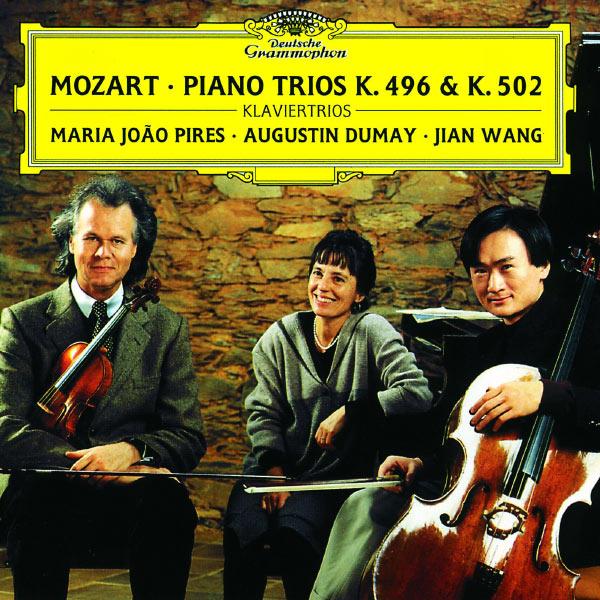 Maria João Pires|Mozart: Pianotrio in B Flat Major K.502; Pianotrio In G major, K. 496; Divertimento In B Flat Major, K. 254