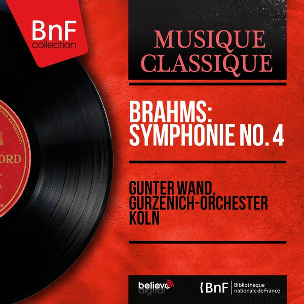 Günter Wand - Brahms: Symphonie No. 4 (Mono Version)