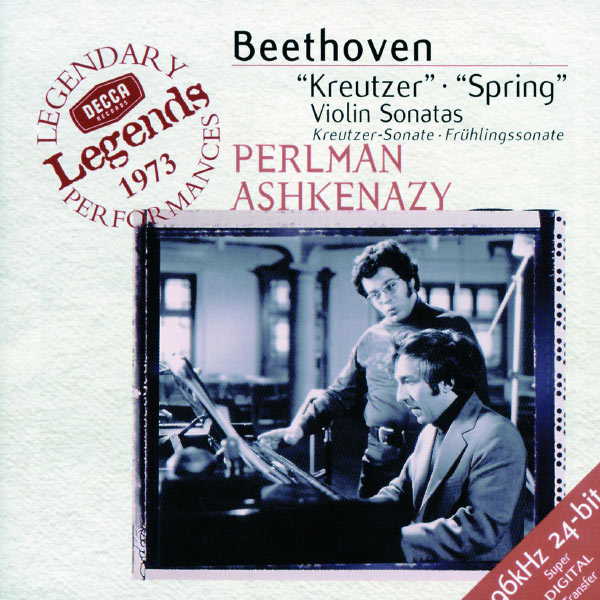 "Itzhak Perlman - Beethoven: Violin Sonatas Nos.9 ""Kreutzer"" & 5 ""Spring"""