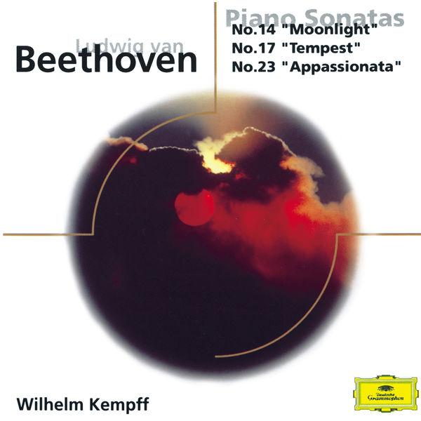 "Wilhelm Kempff - Beethoven: Piano Sonatas Nos.14 ""Moonlight"", 17 ""Tempest"" + 23 ""Appasionata"""
