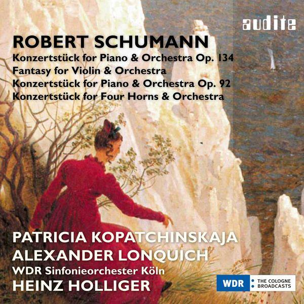 Heinz Holliger - Schumann: Fantasy for Violin and Orchestra & Concert Pieces
