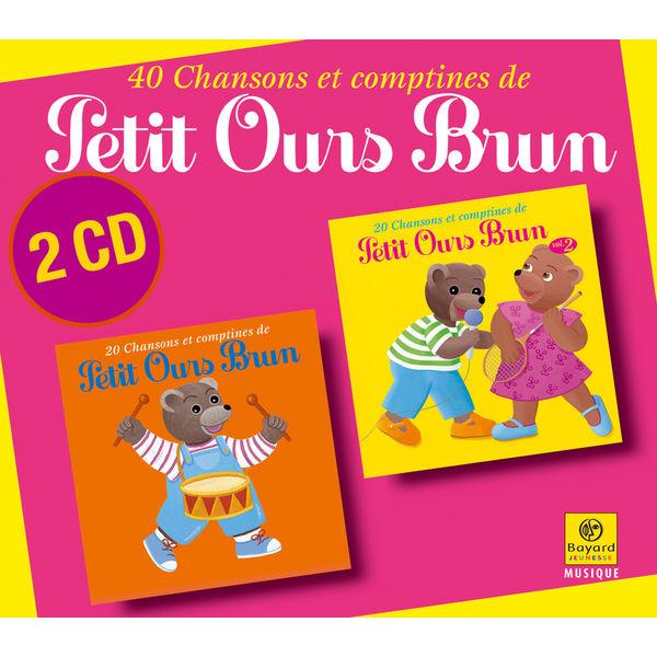 Petit Ours Brun - 40 chansons et comptines de Petit Ours Brun - L'intégrale