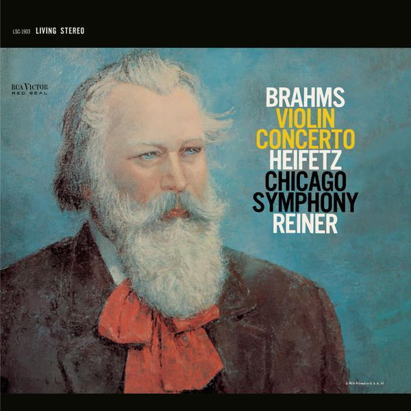 Jascha Heifetz - Brahms: Violin Concerto in D, Op. 77