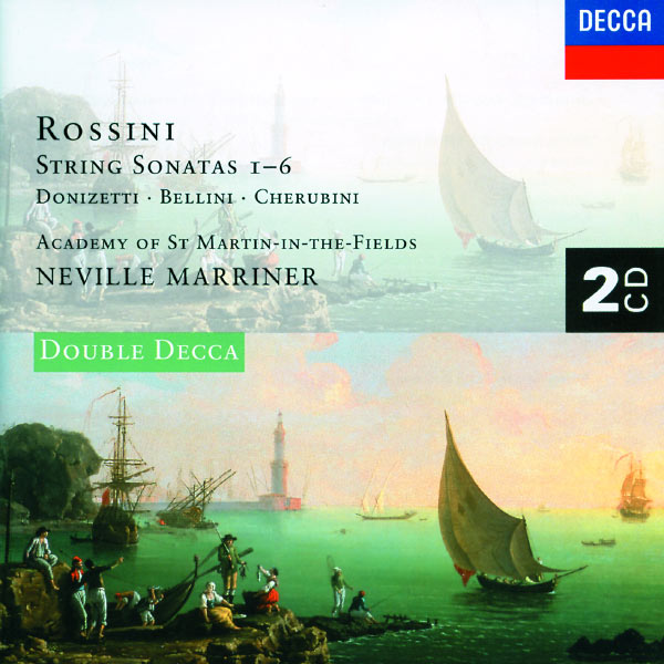 Academy of St. Martin in the Fields - Rossini: 6 String Sonatas/Donizetti/Cherubini/Bellini
