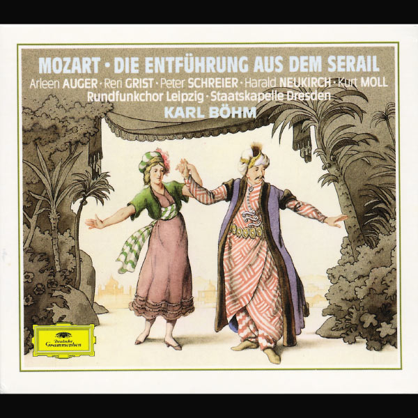 Staatskapelle Dresden - Mozart : The Abduction from the Seraglio