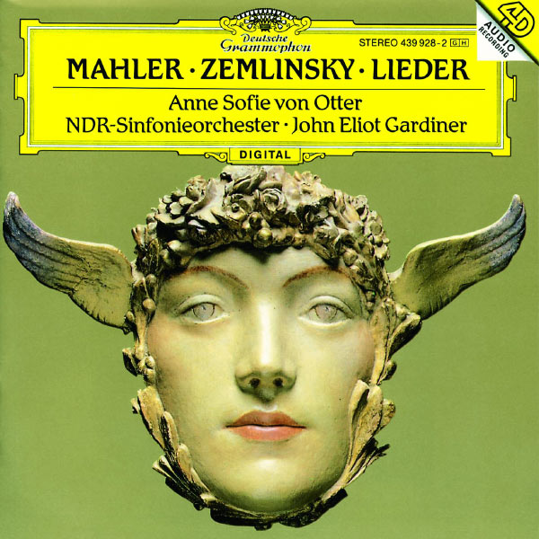 Anne Sofie von Otter - Mahler: Songs of a Wayfarer; 5 Rückert-Lieder - Zemlinsky: Six Songs to Poems by Maurice Maeterlinck