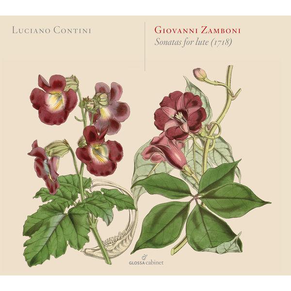 Luciano Contini - Giovanni Zamboni : Sonatas for Lute