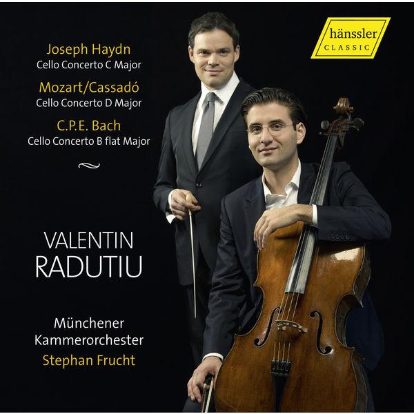 Valentin Radutiu - Haydn, Cassado & C.P.E. Bach: Cello Concertos