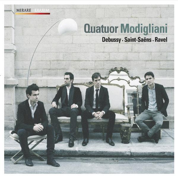 Quatuor Modigliani - Debussy - Saint Saëns - Ravel