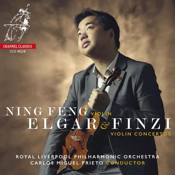 Ning Feng - Elgar & Finzi : Violin Concertos