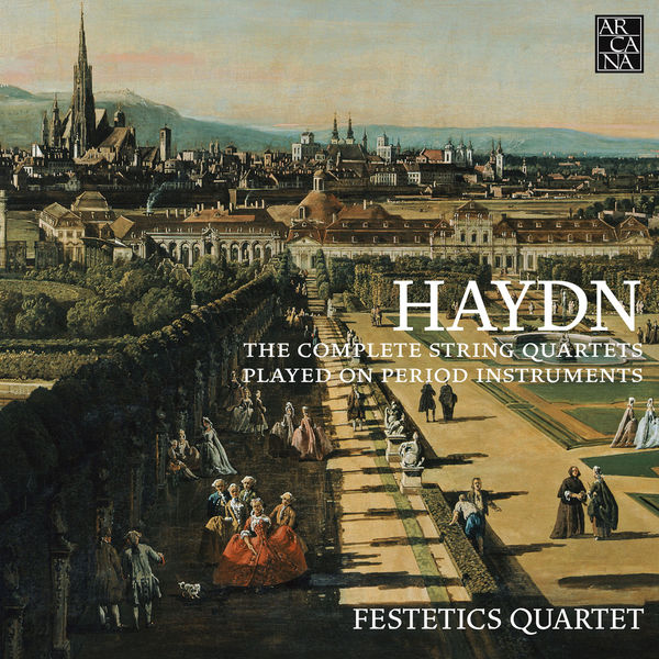 Festetics Quartet - Joseph Haydn : The Complete String Quartets played on period instruments