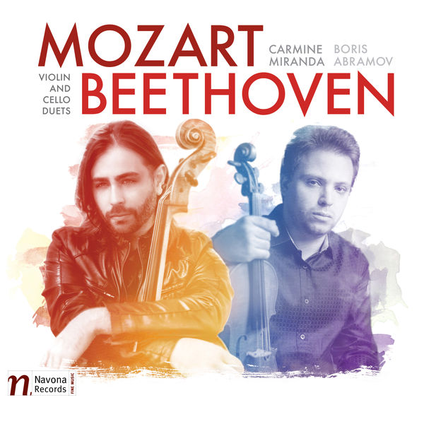 Boris Abramov - Mozart & Beethoven: Violin & Cello Duets