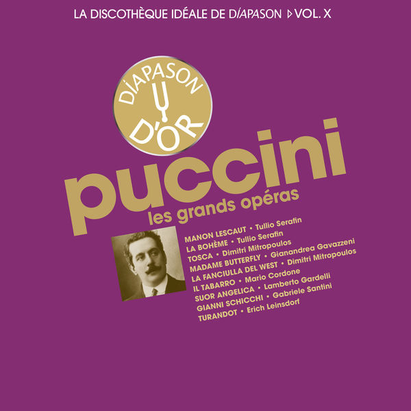 Various Artists - Puccini: Les opéras (Discothèque idéale de Diapason, v.10)