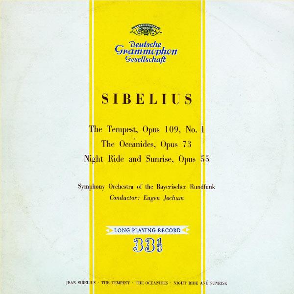 Eugen Jochum - Sibelius: The Storm; Oceanides