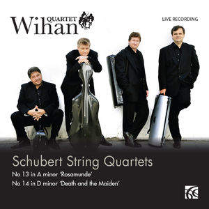 Schubert String Quartets : N° 13 in A minor