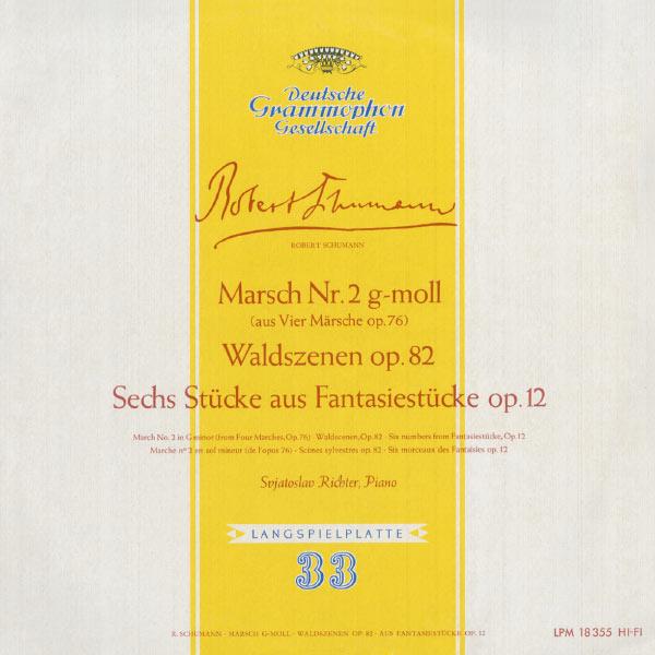 Sviatoslav Richter - Schumann: Marsch No.2, Op.76; Waldszenen, Op.82; Fantasiestücke, Op.12