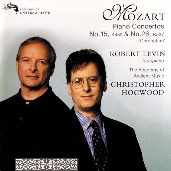 "Robert Levin - Mozart: Piano Concertos Nos. 15 & 26 ""Coronation"""